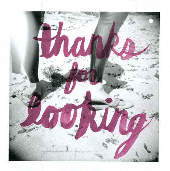 thanksforlookin