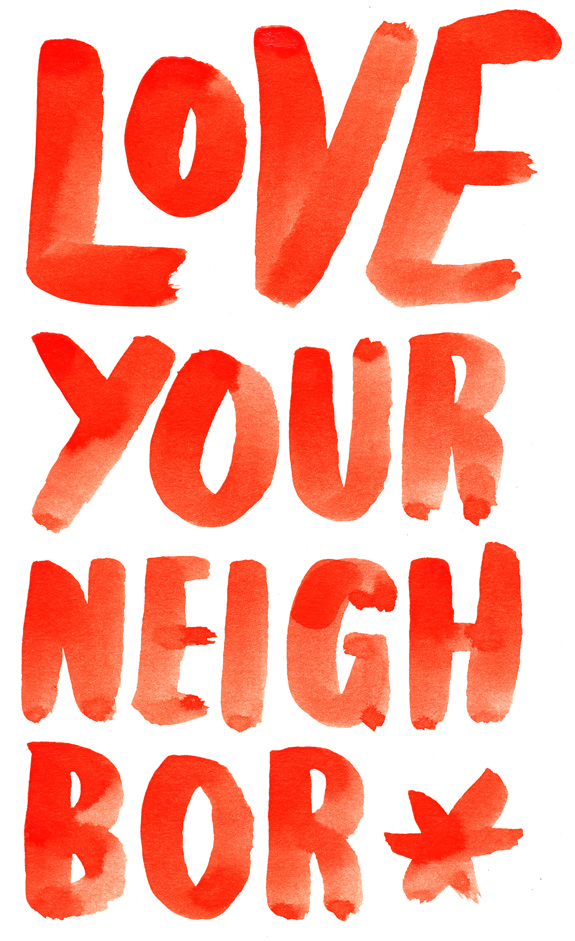 ballasiotes-chris-typography-love-your-neighbor